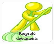 Propreté nettoyage documents DIVERS